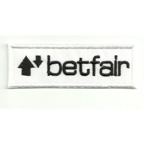 Parche bordado BETFAIR 8,5cm x 3,5cm