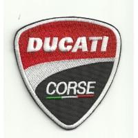 Patch embroidery DUCATI CORSE 7,5cm x 8cm