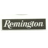 Textile patch REMINGTON 10cm x 2,5cm