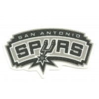 Textile patch SAN ANTONIO SPURS 8cm x 4cm