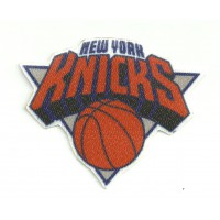 Parche textil NEW YORK KNICKS 8cm x 6,5cm
