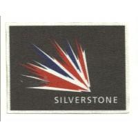 Parche textil CIRCUITO SILVERSTONE 8cm x 6cm