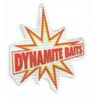 Parche textil DYNAMITE BAITS 8cm x 9cm