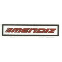Textile patch MENDIZ 11cm x 2,5cm