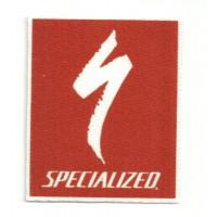 Parche textil SPECIALIZED 6CM X 7,5CM