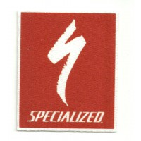 Textile patch SPECIALIZED 6CM X 7,5CM