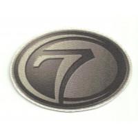 Textile patch 7 SEVEN 7,5cm x 5cm