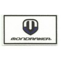 Parche textil MONDRAKER 8cm x 4,5cm