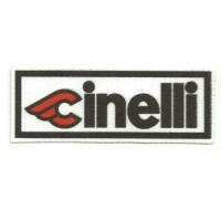 Textile patch CINELLI 9,5CM X 3,5CM