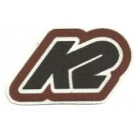 Textile patch K2 8cm x 5cm