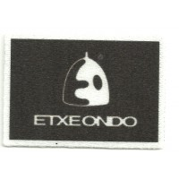 Textile patch ETXEONDO 6cm x 4cm
