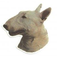 Textile Patch BULL TERRIER 9,5cm x 9cm