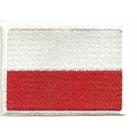 Patch embroidery FLAG CANTABRIA 4CM X 3CM