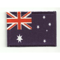 Patch embroidery and textile FLAG AUSTRALIA 4CM x 3CM