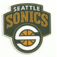 Textile patch SEATTLE SONICS 8,5cm x 8,5cm