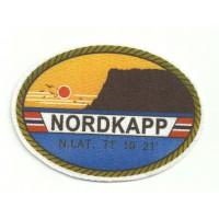 Textile patch NORDKAPP 8,5cm x 6cm