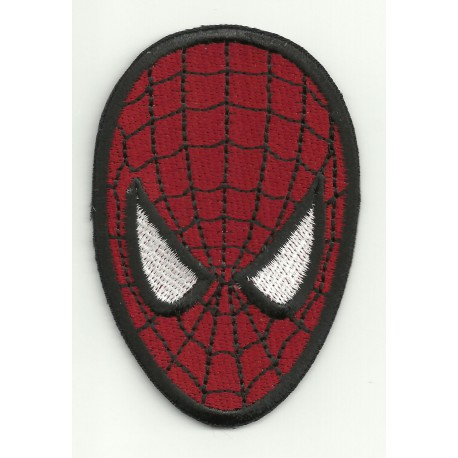Parche bordado SPIDERMAN 8cm x 5,5cm