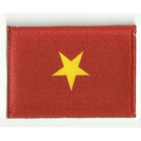 Patch embroidery and textile FLAG VIETNAM 4CM x 3CM