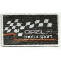 Parche textil OPEL MOTOR SPORT 8,5cm x 5cm