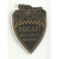 Parche textil DUCATI MECCANICA 6,5cm x 9cm