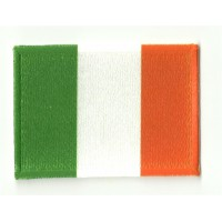 Parche bordado y textil BANDERA IRLANDA 7CM x 5CM