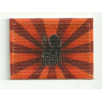 Parche textil y bordado BANDERA AC DC 7cm x 5cm
