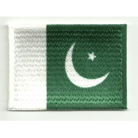 Patch embroidery and textile FLAG PAKISTAN 7CM x 5CM