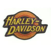 Parche textil ref.18 HARLEY DAVIDSON 9cm x 6cm