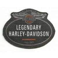 Parche textil ref.2 HARLEY DAVIDSON 8,5cm x 6,5cm