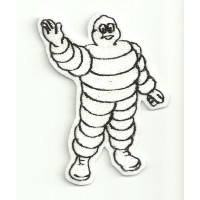 Patch embroidery MAN MICHELIN 6cm x 8cm