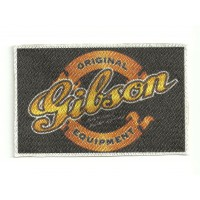Textile patch GIBSON 9cm x 6cm