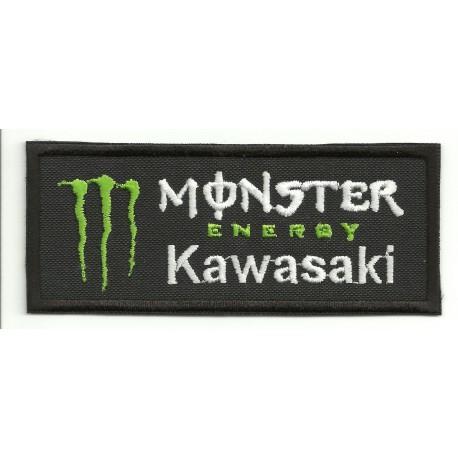 Parche bordado KAWASAKI MONSTER ENERGY 10cm x 4cm