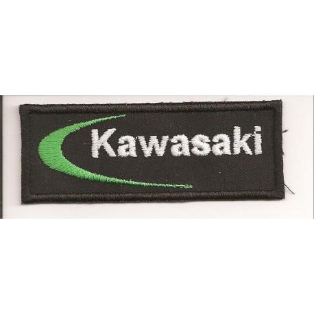 Parche bordado KAWASAKI 9cm x 3,5cm