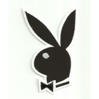 Parche bordado PLAYBOY 2,7cm x 4,5cm