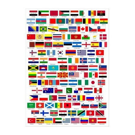 banderas delos paises del mundo