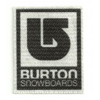 Textile patch BURTON SNOWBOARDS 2,3cm x 3cm