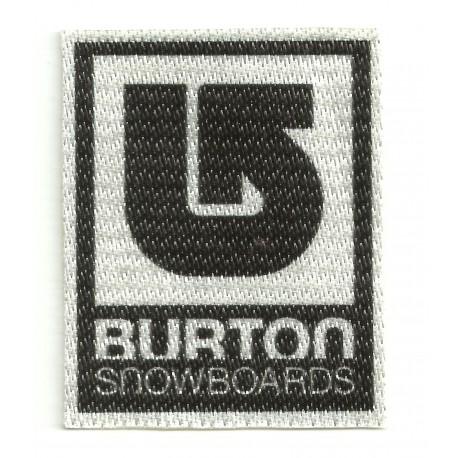 Textile patch BURTON SNOWBOARDS 2,3cm x 3cm