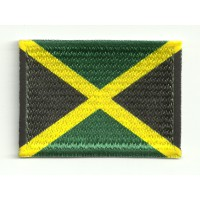 Patch flag JAMAICA 4cm x 3cm