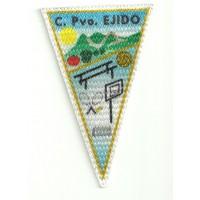 Parche textil C.PVO.EJIDO 5,5cm x 9cm