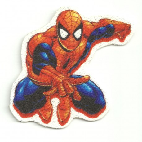 Parche textil SPIDERMAN 5cm x 6cm