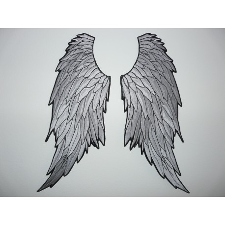 Parche Bordado 2 Alas Angel 95cm X 20cm Cada Ala Los Parches