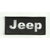 Patch embroidery JEEP 8 cm x 3,5 cm