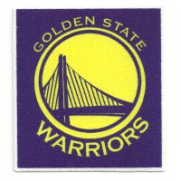 Textile patch GOLDEN STATE WARRIORS 7,5cm x 8,5cm