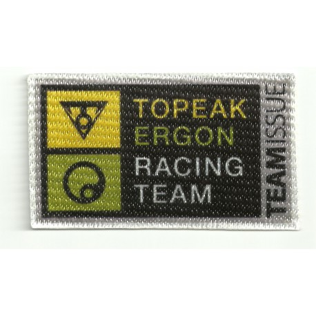 Textile patch TOPEAK ERGON RACING TEAM 8,,5cm x 5cm