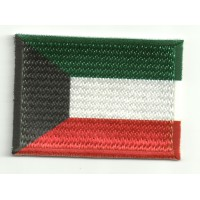 Patch embroidery and textile KUWAIT 7CM x 5CM