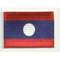 Patch embroidery and textile LAOS 7CM x 5CM