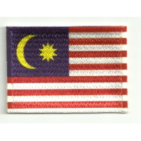 Patch embroidery and textile MALASIA 7CM x 5CM