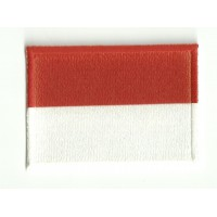 Patch embroidery and textile MONACO 7CM x 5CM