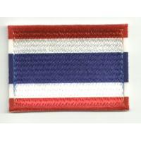 Parche bordado y textil TAILANDIA 7CM x 5CM