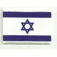 Patch embroidery and textile ISRAEL 4CM x 3CM
